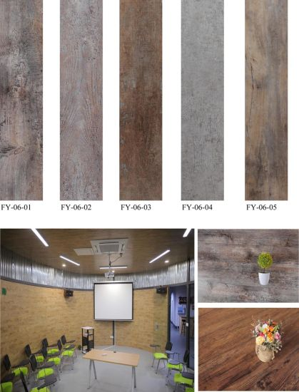 2017 New Design 100% Waterproof Environmental PVC Flooring pictures & photos