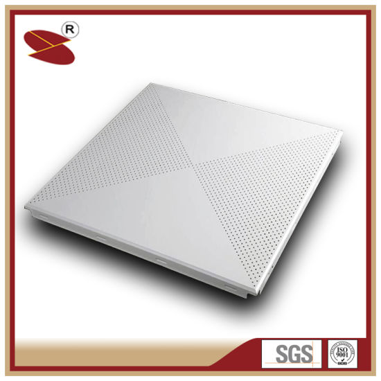 Chinese Supplier Powder Coating Aluminum Ceiling Tiles, Aluminium False  Ceiling, Building Material
