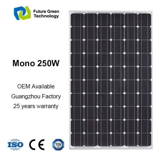 2018 High Efficiency Energy Mono PV Power Solar Panel pictures & photos