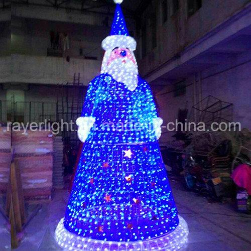 China Large LED Motif Lighting Eiffel Tower Outdoor Christmas Lights ...