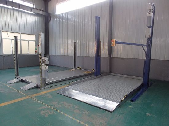 Auto Hoist Two Post Hydraulic Car Parking Lift Ce Approved