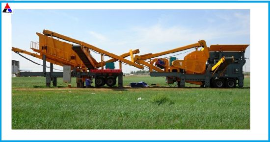 Mobile Stone Crushing Machine with Good Quality pictures & photos