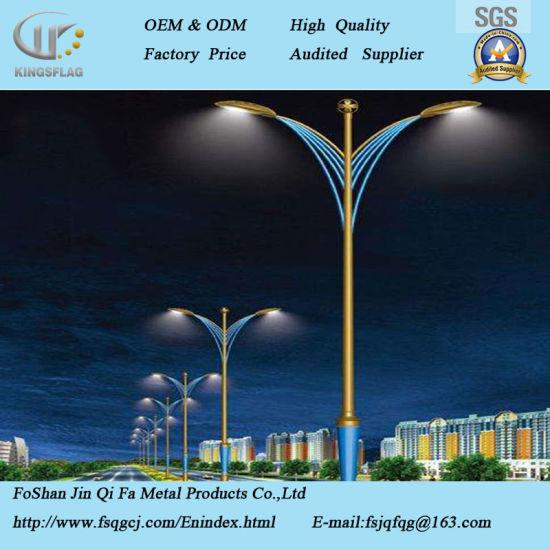 china supplier outdoor led decorative street lighting pole china