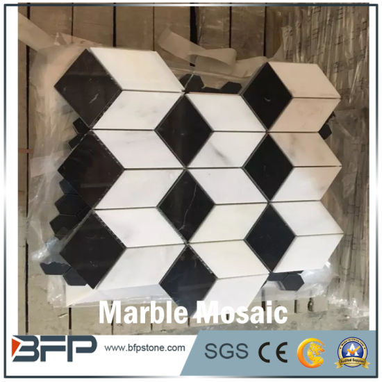 China Different Colors New Design Marble Stone Mosaic For Wall And