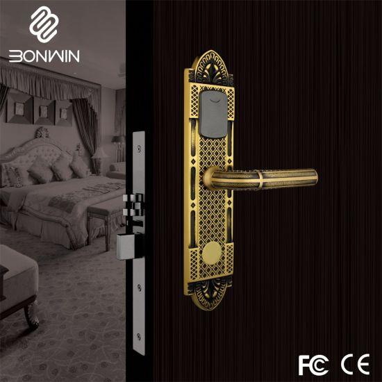 European Type Hotel RF Card Mortise Door Lock