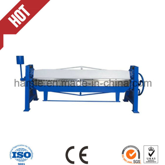 Metal Manual Folding Machine From China Factory pictures & photos