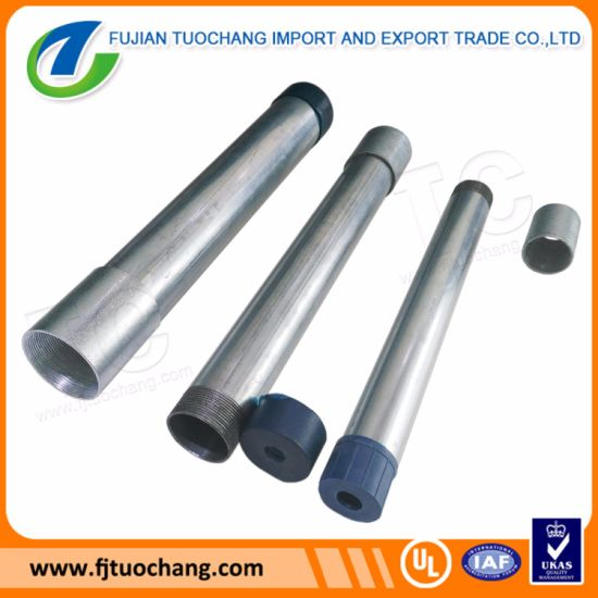 Q235 Carbon Steel Pre Galvanized Steel Pipe pictures & photos