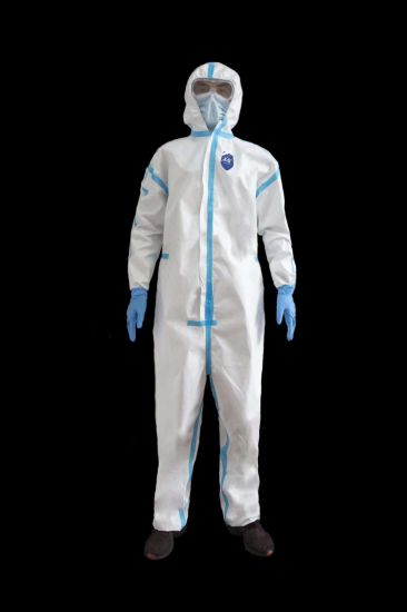 China Wholesale Outpatient Ward Test Room Protective Clothing Suit Disposable Overall Lab Clothing Isolation Gown