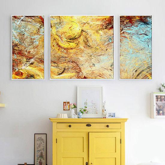 China Wall Decor Oil Painting Abstract Modern Canvas Prints - China ...