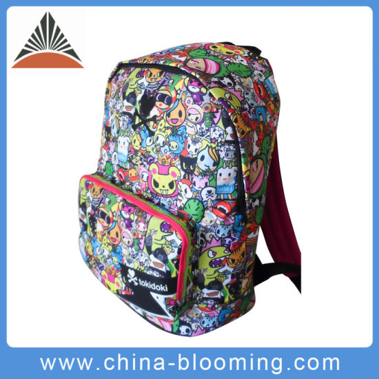 3498610816 China Supplier Cartoon School Student Waterproof PVC Backpack Bag pictures    photos