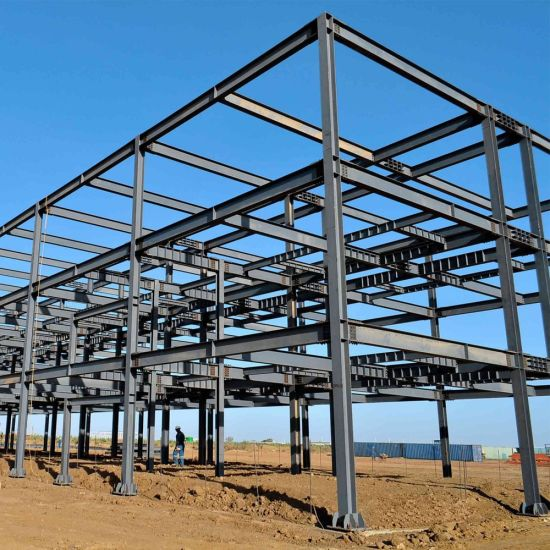 China New Design Structural Steel Frame Building - China Structural ...