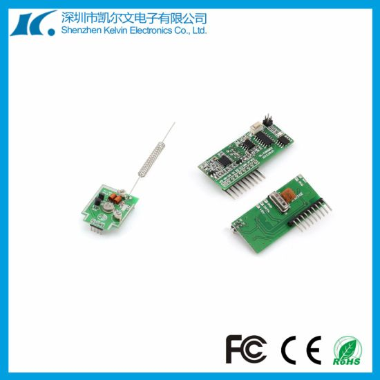DC5V 433MHz RF Remote Control Wireless Transmitter and Receiver Module