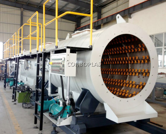 Plastic Extruder LDPE HDPE Water Energy Gas PE Pipe Making Machine pictures & photos