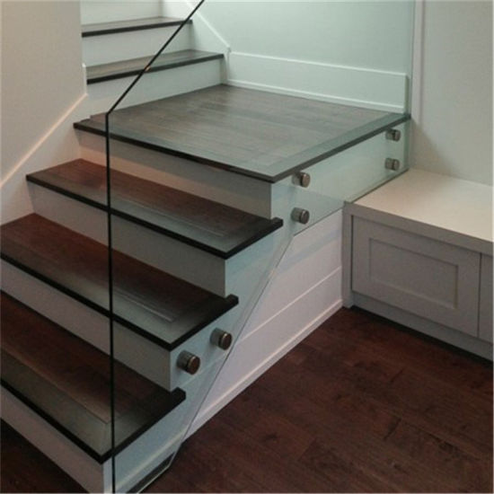 Glass Staircase Balustrade Kit: China Indoor Balusters 304 S. S Standoff Stair Railing