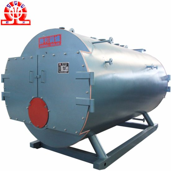 China High Efficiency Horizontal Gas Fired Steam Boilers with ...
