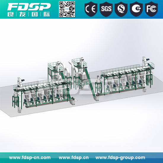 Livestock Feed Pellet Mill/Animal Feed Pellet Production Line pictures & photos