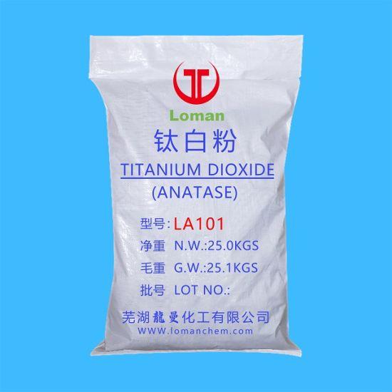 Anatase Grade TiO2 Titanium Dioxide 98%Min B101 A101
