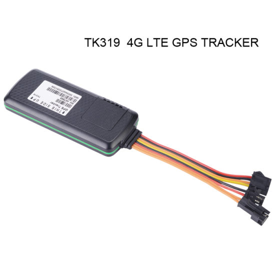 New 4G Lte Vehicle Car GPS Tracker Sos Panic /Temperature Detect for Truck Trcking System (TK319-L) pictures & photos