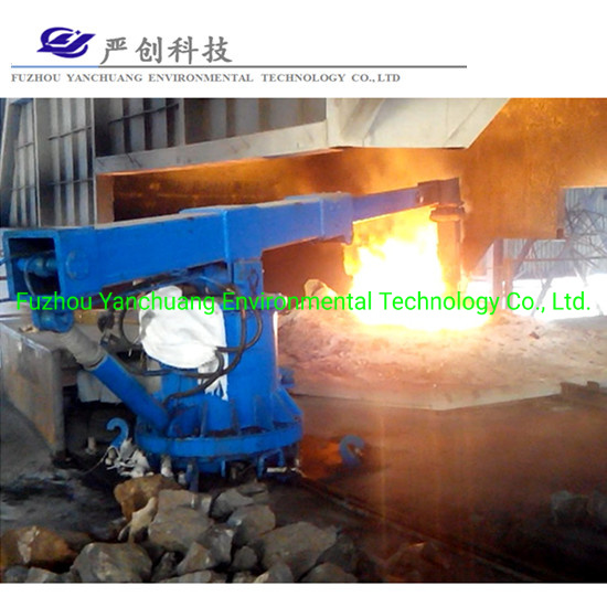 60tons Intermediate Frequency Furnace Manipulator Pressing Scrap Steel