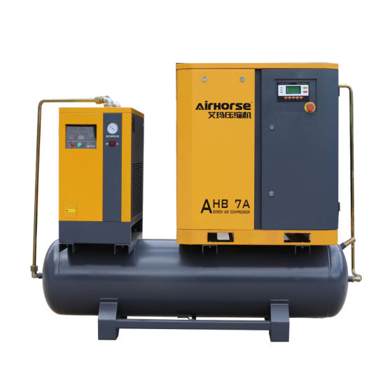 7HP 5.5kw Industrial Air Compressor for Bottle Blowing Machine