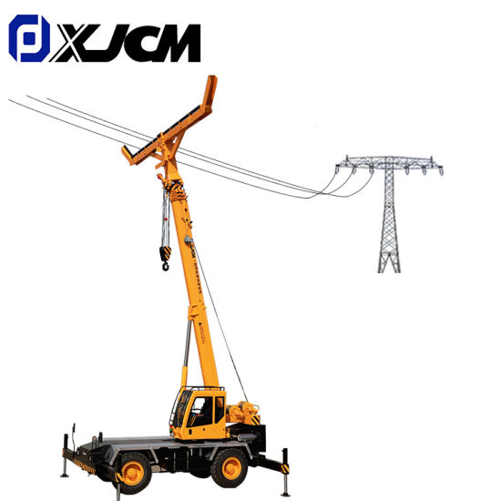 Self-Erecting Crane for Lifting Power Transmission Line pictures & photos
