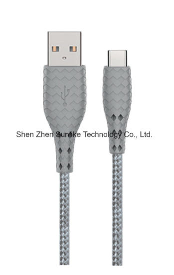 USB C Cable, Fashion Style Magic Plug and Braided Jacket, phone accessories