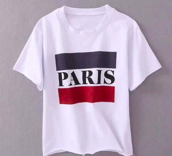 Print Paris Women T-Shirt