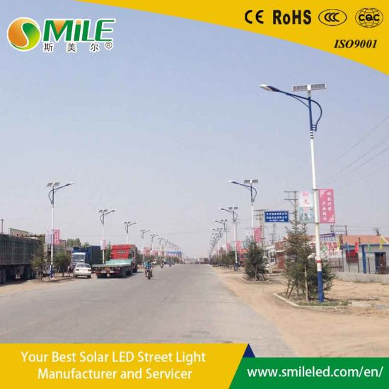 Wholesaling Nigeria Solar Home Lighitng System Galvanized Round Conical Lighting Pole pictures & photos