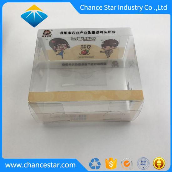 Custom Logo Printing Recyclable Plastic PVC Gift Packaging Box