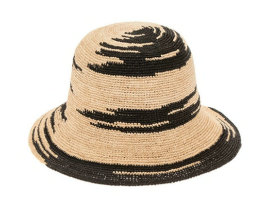 6c2772b63ea21a China Two Tone Fine Raffia Crochet Bucket Hats - China Fine Raffia ...