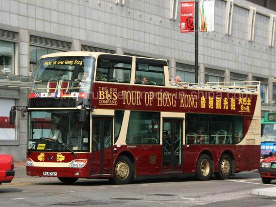 Ankai 74 Seats Diesel Electric Double-Deck Tourist Sightseeing Bus