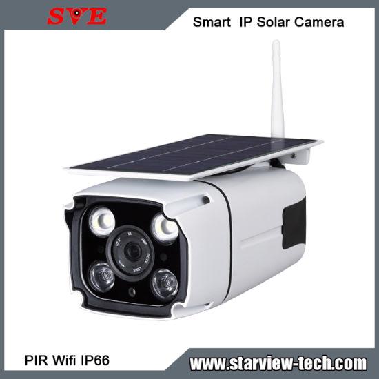 Smart Solar Panel Battery Powered Outdoor WiFi IP Solar Camera