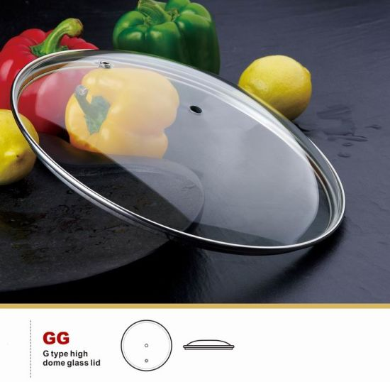 G Type Tempered Glass Lid Vent Cover Cookware