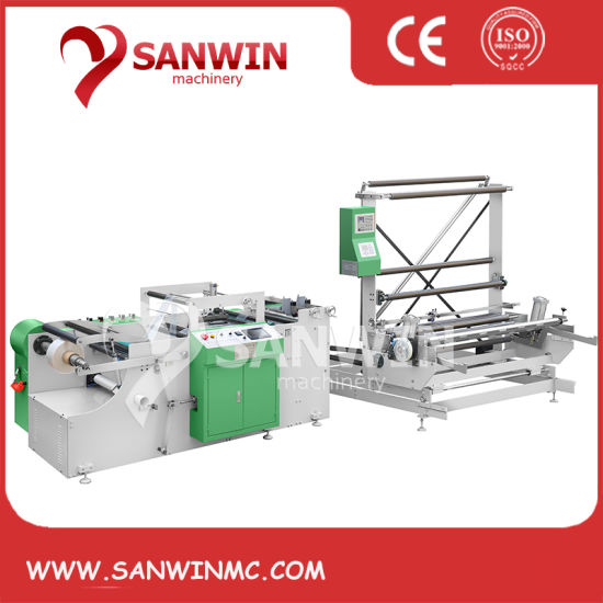 HDPE LDPE High Speed Side Sealing Machine with Slitting Device