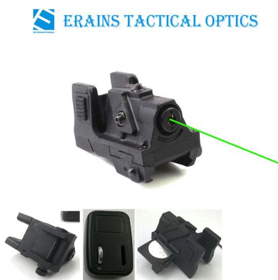 New Unique Design Subcompact Ak47 Standable Rechargeable Pistol Green Laser Sight (ES-LS-HY05G)