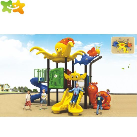 S013 OEM Real Solid Custom Design AAA Quality Kids Outdoor Playground Wholesale China