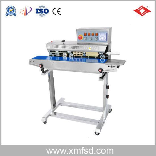 Ink Wheel Color Printing Continuous Sealing Machine Heating Sealing Machine