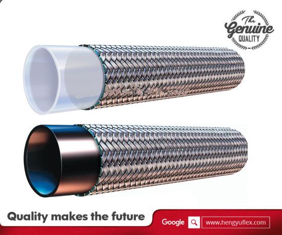 SAE 100 R14 PTFE/Teflon Hose with Ss304/316 Stainless Steel Braid
