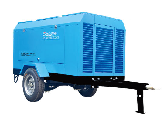 Portable electric portable screw air compressor pictures & photos