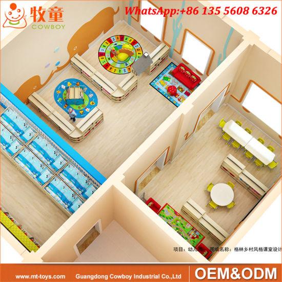 China International Kindergarten Classroom Furniture Free Daycare Furniture Cabinet