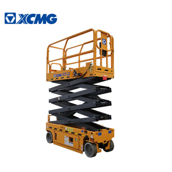 XCMG Factory Gtjz0808 8m Mobile Electric Cheap Hydraulic Aluminum Scissor Lift Aerial Work Platform Price China