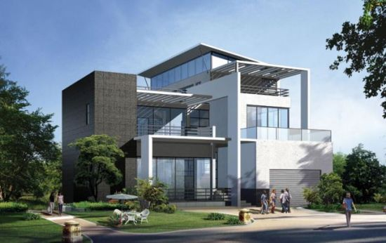 Afforded and High Quality Prefabricated Light Steel Houses