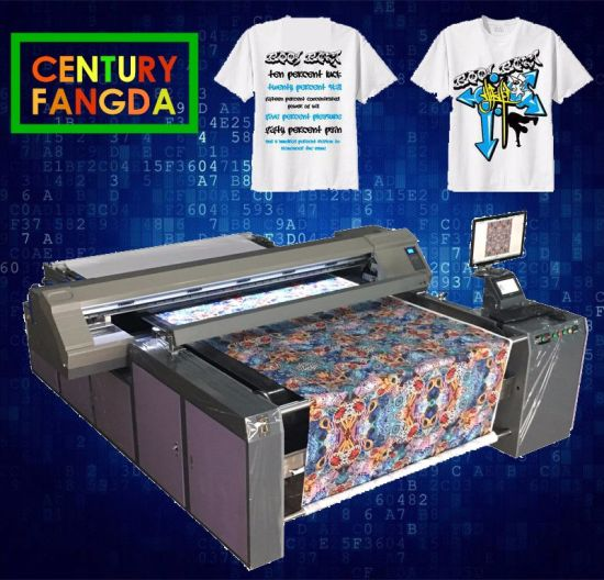 China Multifuctional Pigment Digital Printing Machine for Textile