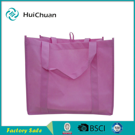 9ad5a668b9 Fashion Reusable Customized Logo Promotional Polyester Shopping Bag