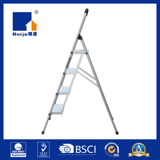 Grey Steel- Aluminium Step Ladder Household pictures & photos