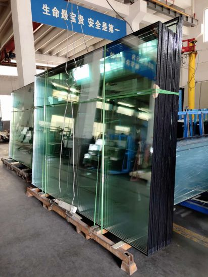 Floating Safely Tempered Hollow Glass Used in Curtain Wall Construction
