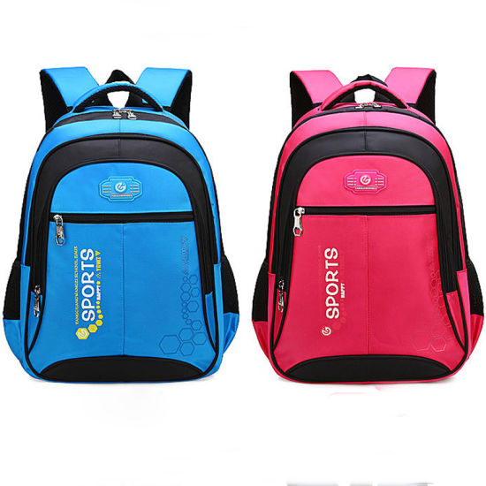 Customized Fashion Style Backpacks Bag Children Wear-Resistant School Bags