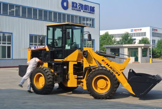 Ce Certificate Artiulated 2.8ton Wheel Loader with Cummins Engine pictures & photos