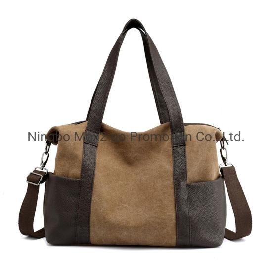 Canvas Large Capacity Gymnasium Single Shoulder Outdoor Handbag Inclined Travel Bag