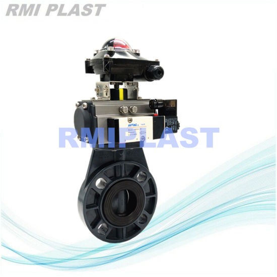 Plastic PVC PP PVDF Hand Gear Butterfly Valve /Pneumatic Electric Diaphragm/Wcb/Stainless Steel Swing Check/True Union Flange Ball Valve pictures & photos